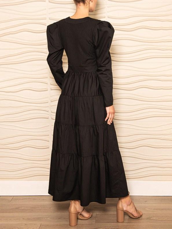 Smudj Flynn Dress Black 4