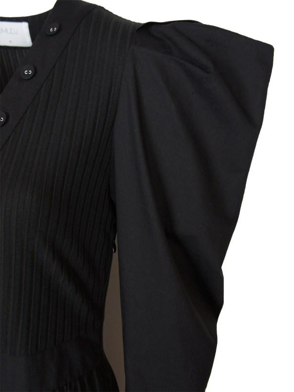 Smudj Flynn Dress Black Detail