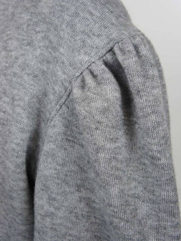 Smudj Martha Cardigan Grey Detail
