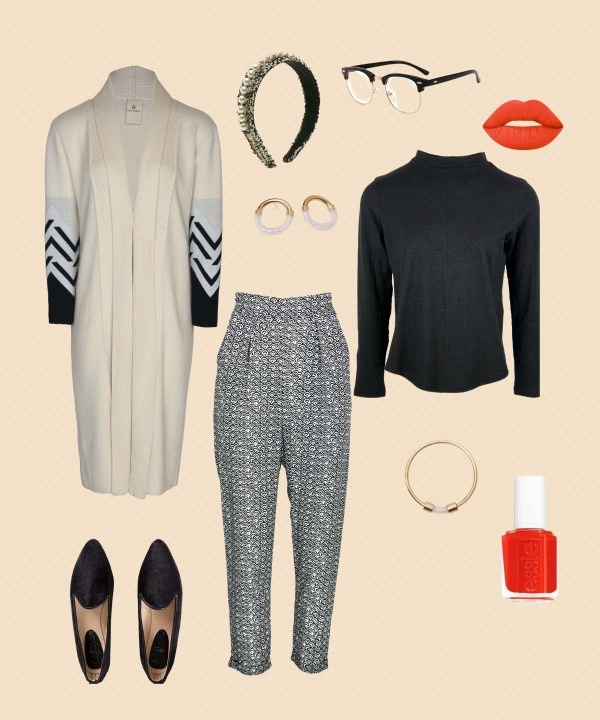 How to style black and white prints