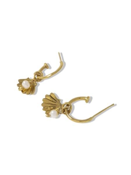 hoop earrings with charms