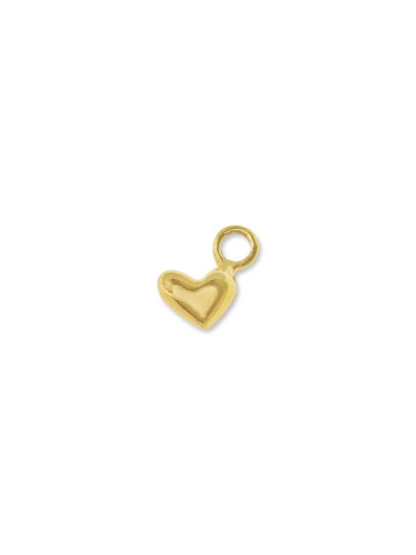 Kirsten Goss Heart Charm Gold