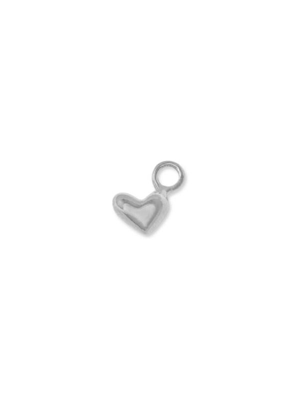 Kirsten Goss Heart Charm Silver
