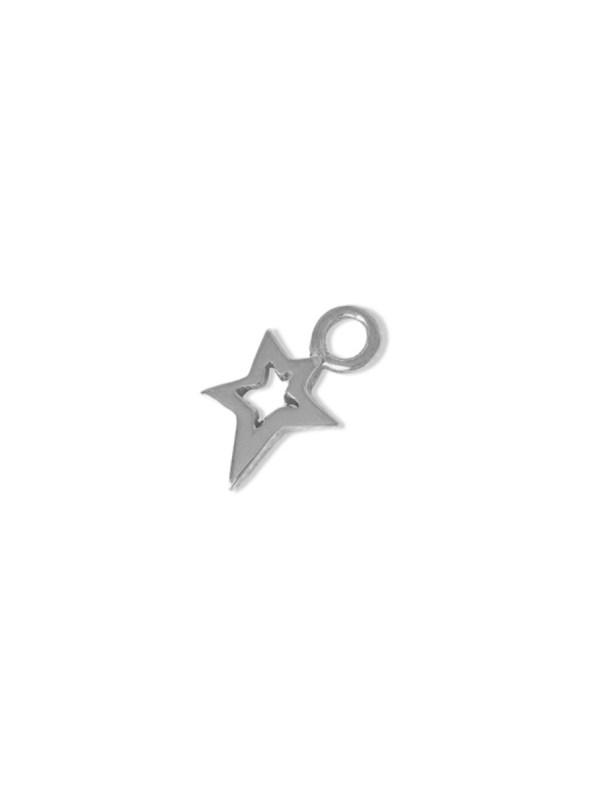 Kirsten Goss Lucky Star Charm Silver