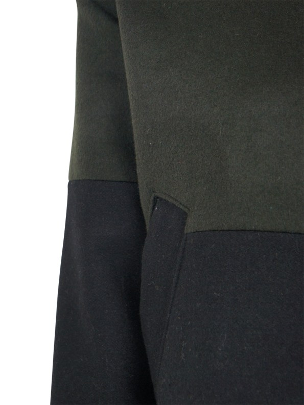 Mareth Colleen Tommy Jacket Olive Detail