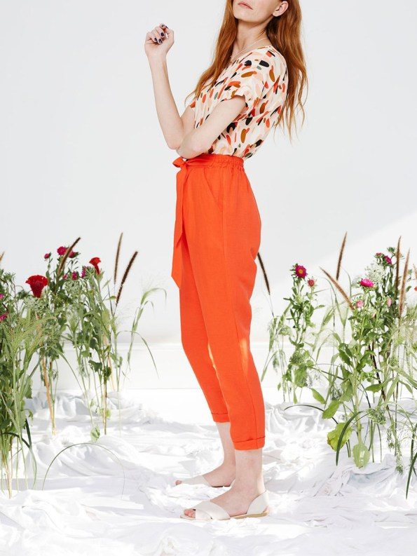 Good Marble Top and Ashley Pants Tangerine 1