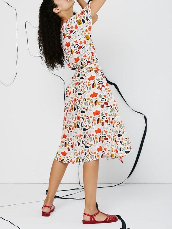 Good Wren Dress Ditsy Dance 3