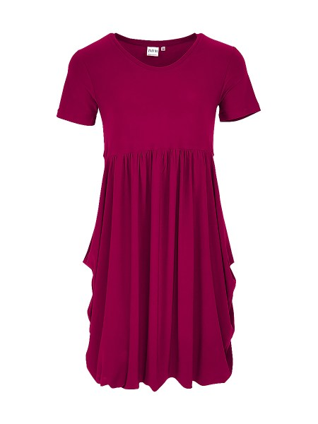 berry bubble dress