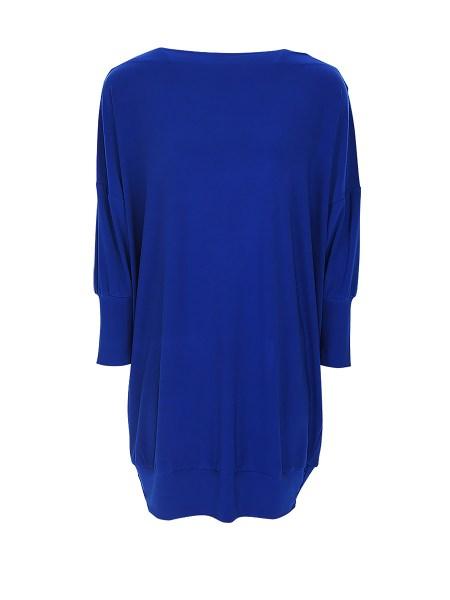 Cobalt blue mini dress