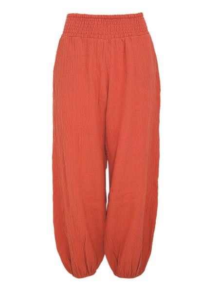 orange joggers womens