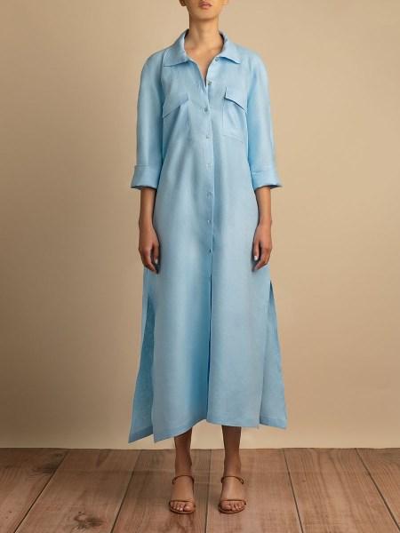 light blue linen dress South Africa