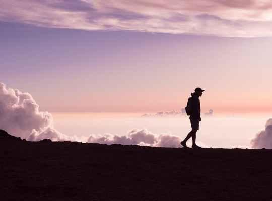 Wandelen Bergen Lopen Bewegen Gezondheid Fitness Ontspanning Rust Stress Mindset