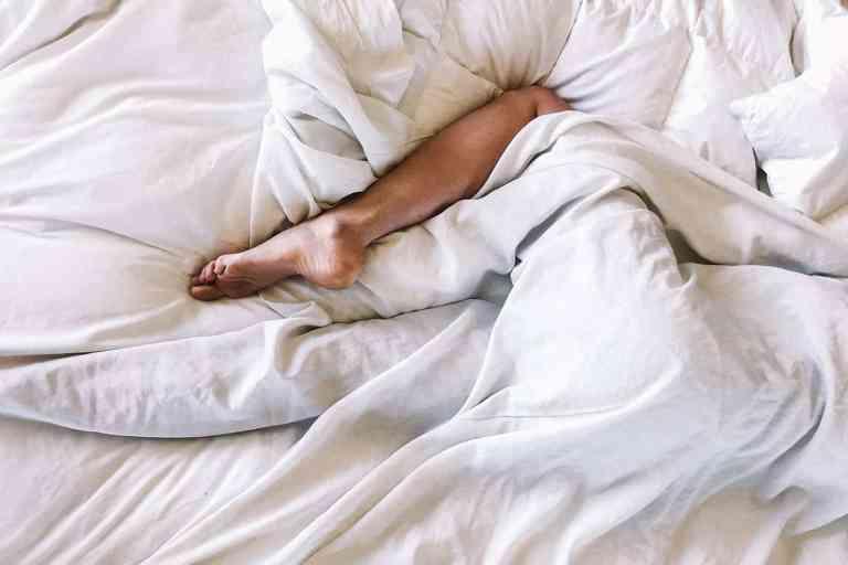Slaap Slapen Nachtrust Ontspanning Bed Liggen Been Rusten Gezondheid Energie