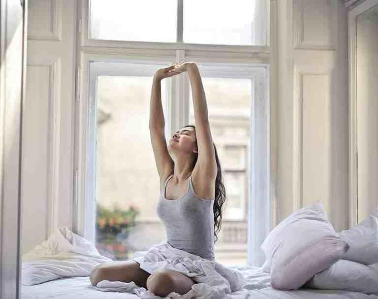 Slaap Slapen Nachtrust Ontspanning Bed Liggen Opstaan Wakker Rusten Gezondheid Energie