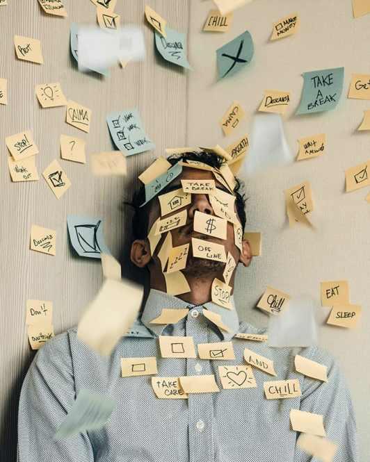 Overweldigd Bang Stress Angst Evenwicht Mindset Aarden Aanvaarden Toelaten Loslaten Groei Ontwikkeling Ademhalen Emoties Nuanceren Uitdagen Equilibrium
