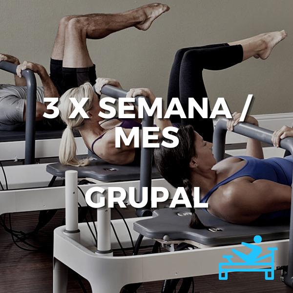 Clases grupales de pilates. Pilates grupal Equilibrium Club