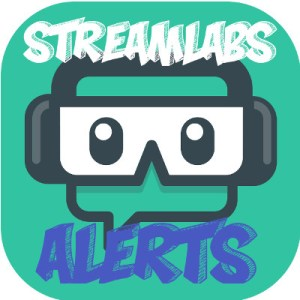 Example of Stream Alerts from Twitch - how to use OBS Software - StreamLabs Logo