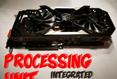 Example of Graphics Processing Unit - GPU - Video Card - Graphics Card