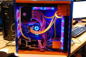 Example of Water Cooling vs Air Cooling vs AIO Cooler -Cooling