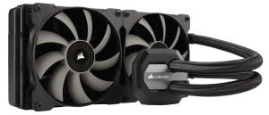 Example of Water Cooling vs Air Cooling vs AIO Cooler -Corsair Hydro Series H115i