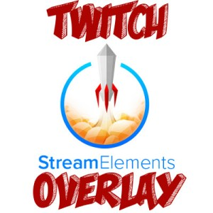 Example of Twitch overlay icon