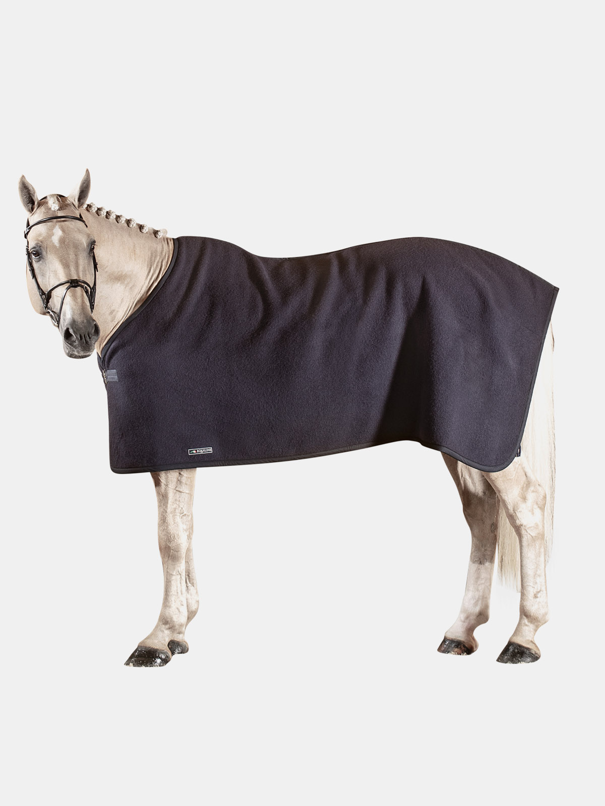 Equiline Bradford Italian wool dress sheet in blue