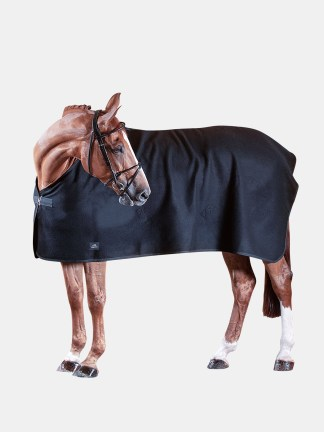 Equiline WOOL - Wool horse cooler in blue