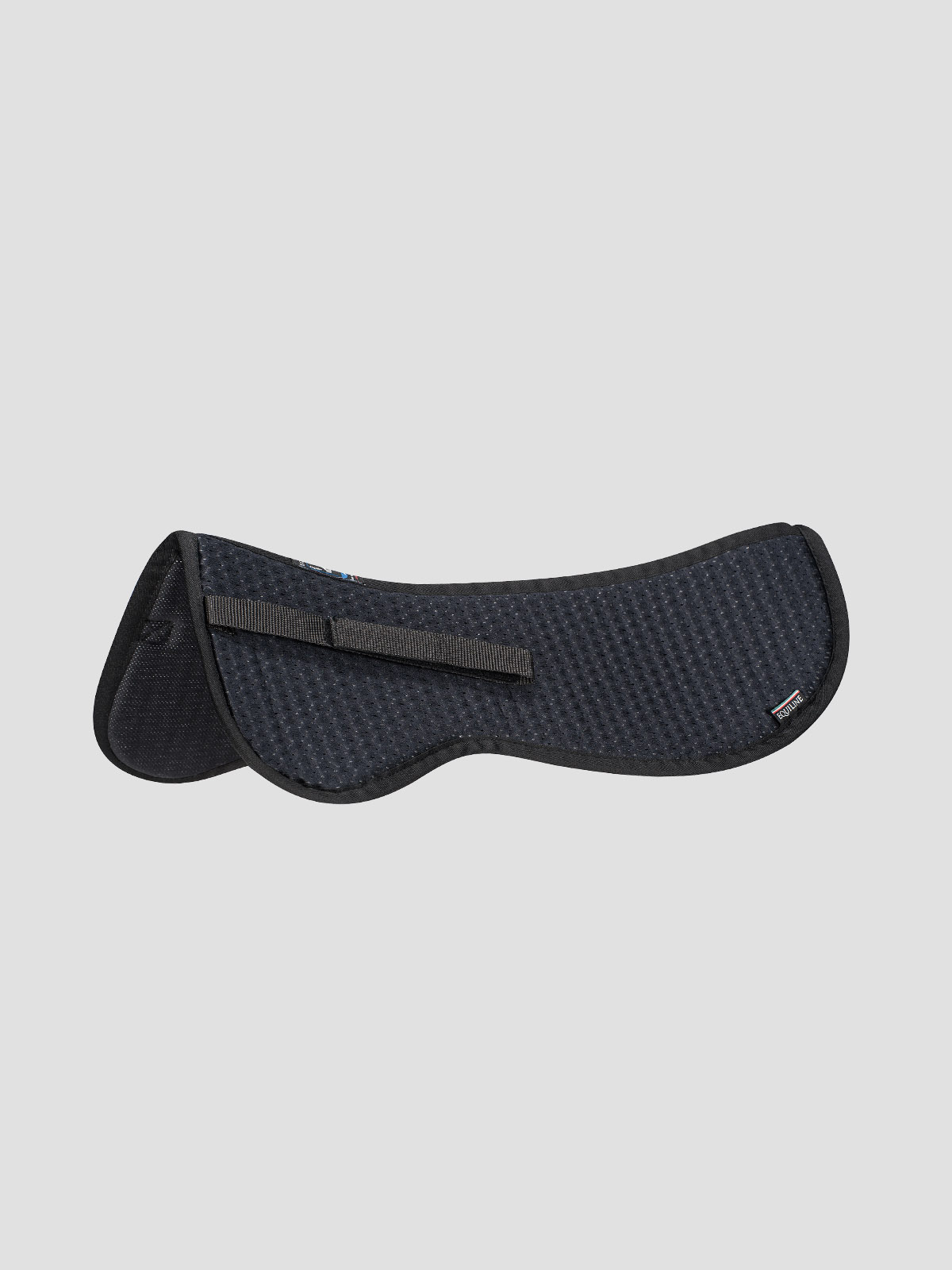 Equiline Shock Absorber Half Pad in black