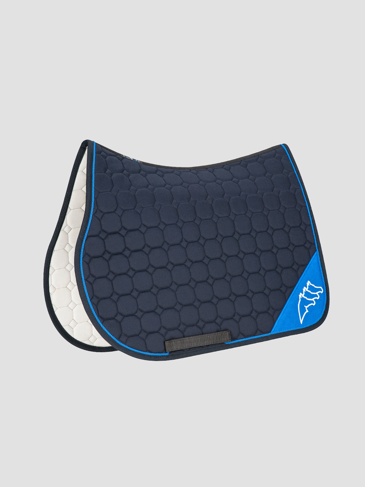 NADIR - Octagon Saddle Pad with Contrast Equiline Logo 6