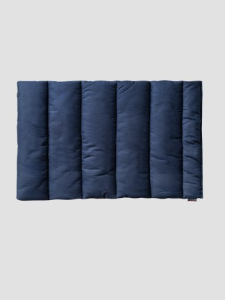 Equiline cotton quilted leg wraps in blue