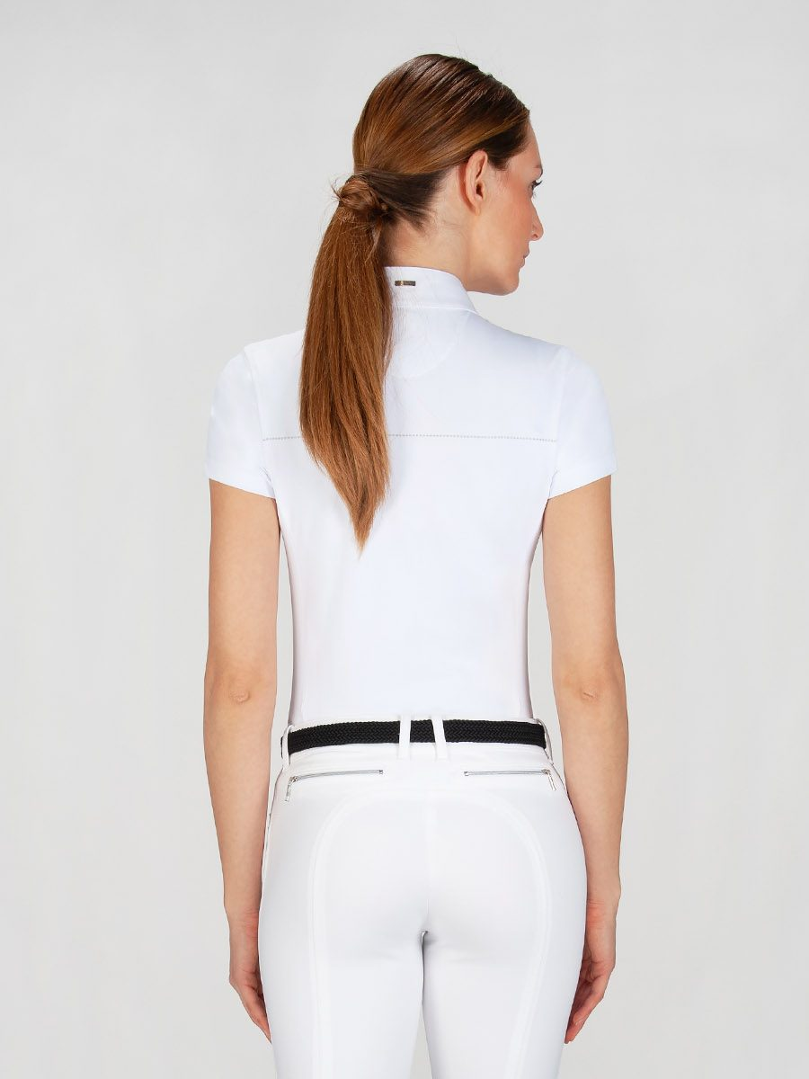 CATHERINE - Women's Show Shirt w/ Silver Detail 4