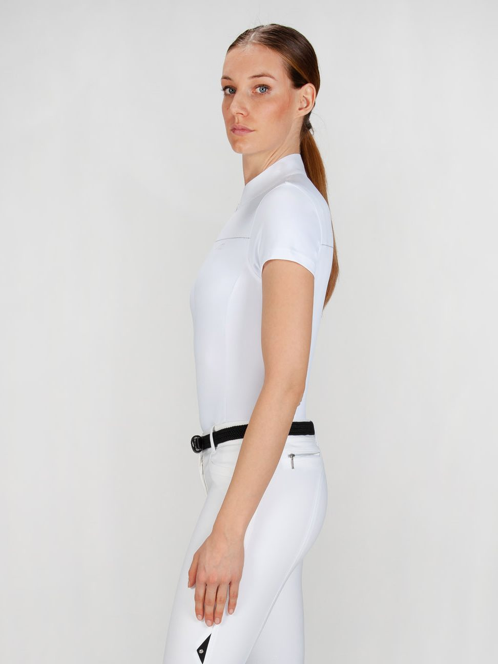 CATHERINE - Women's Show Shirt w/ Silver Detail 3