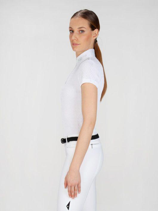NEW ALISSA - Women's Show Shirt with Jewel 3