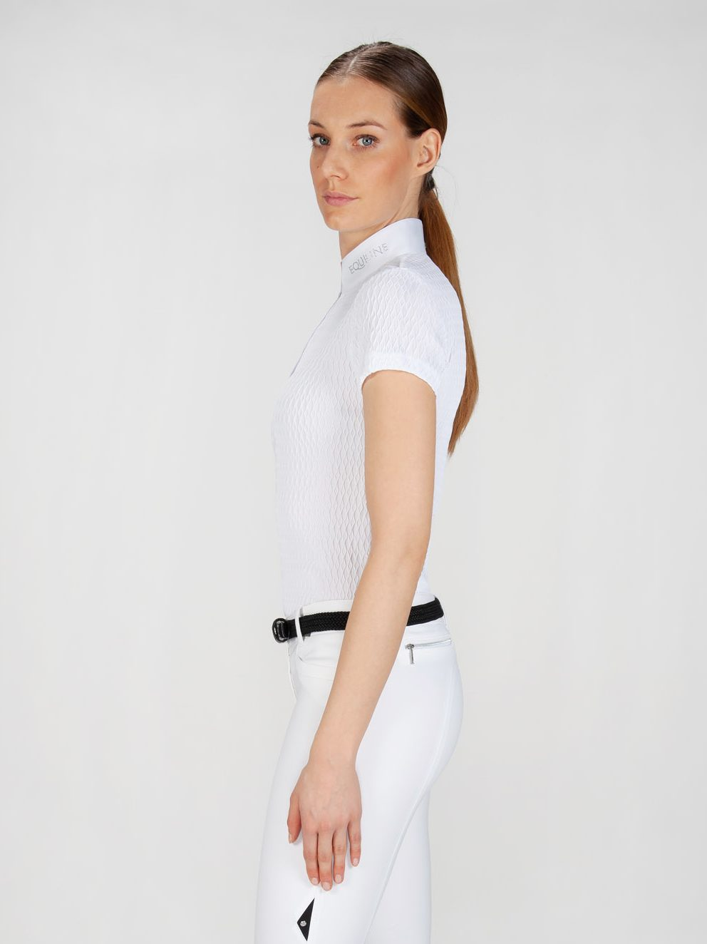 NEW ALISSA - Women's Show Shirt with Jewel 3
