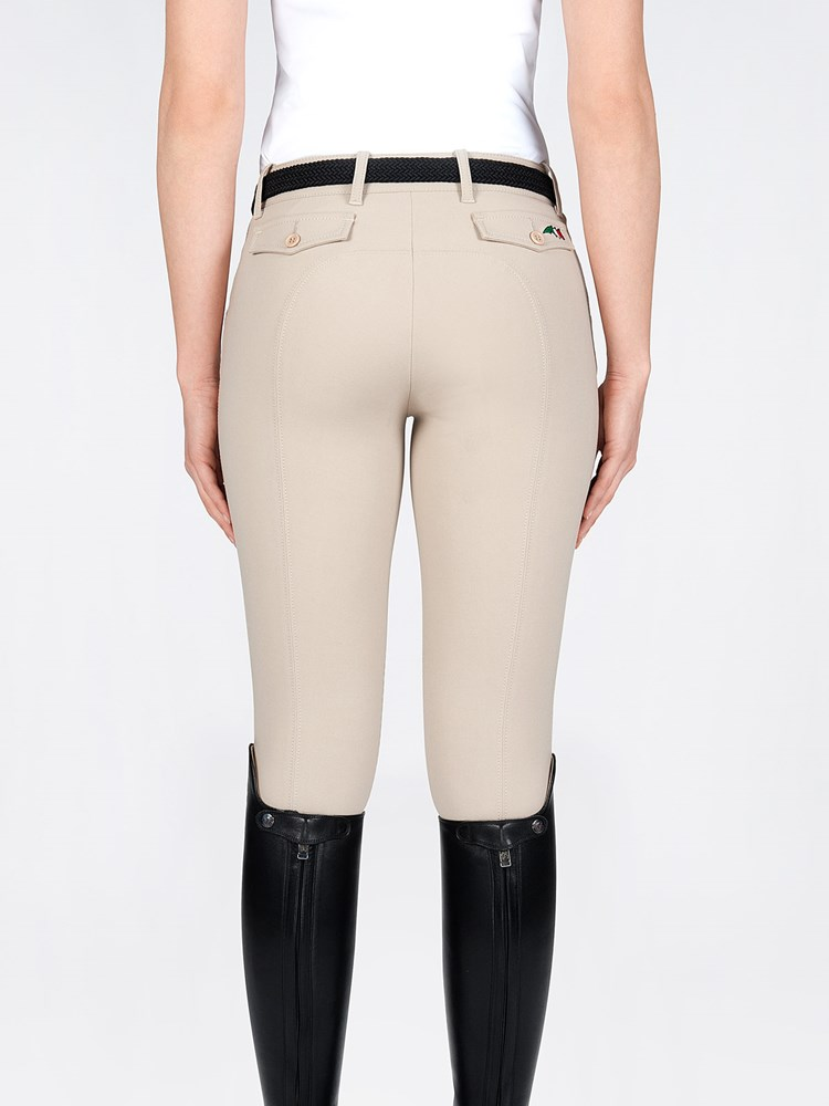 BICE- Women's Equitation Breeches with Knee Grip 2