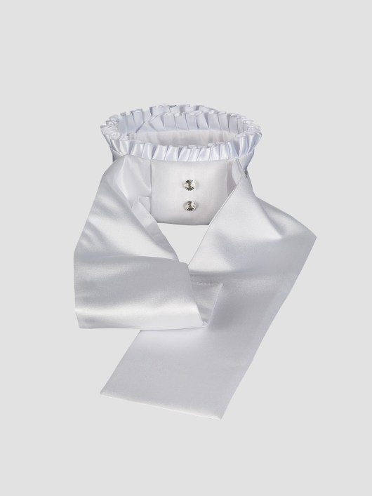 ADEL - Pleated Collar Stock Tie 1