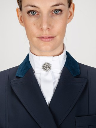 FRIDA - Stock Tie with Crystal Embellishment