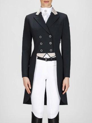 Cadence women's dressage tailcoat in black