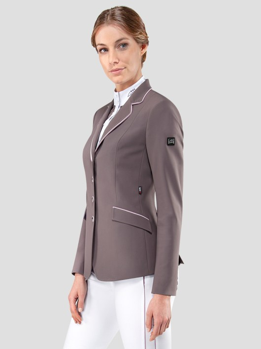 ELISSA WOMEN'S SHOW COAT IN X-COOL FABRIC WITH DOUBLE PIPING 1