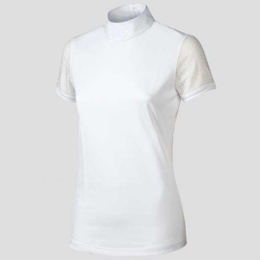 ELLA WOMEN'S SHOW SHIRT WITH TRANSPARENT SLEEVES 5