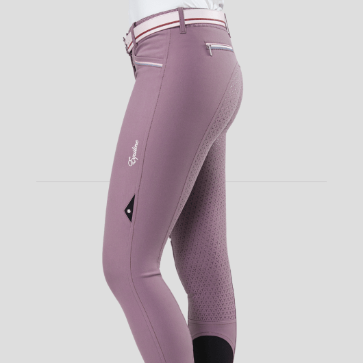 ESHA WOMEN'S FULL GRIP BREECHES WITH DOUBLE PIPING 5