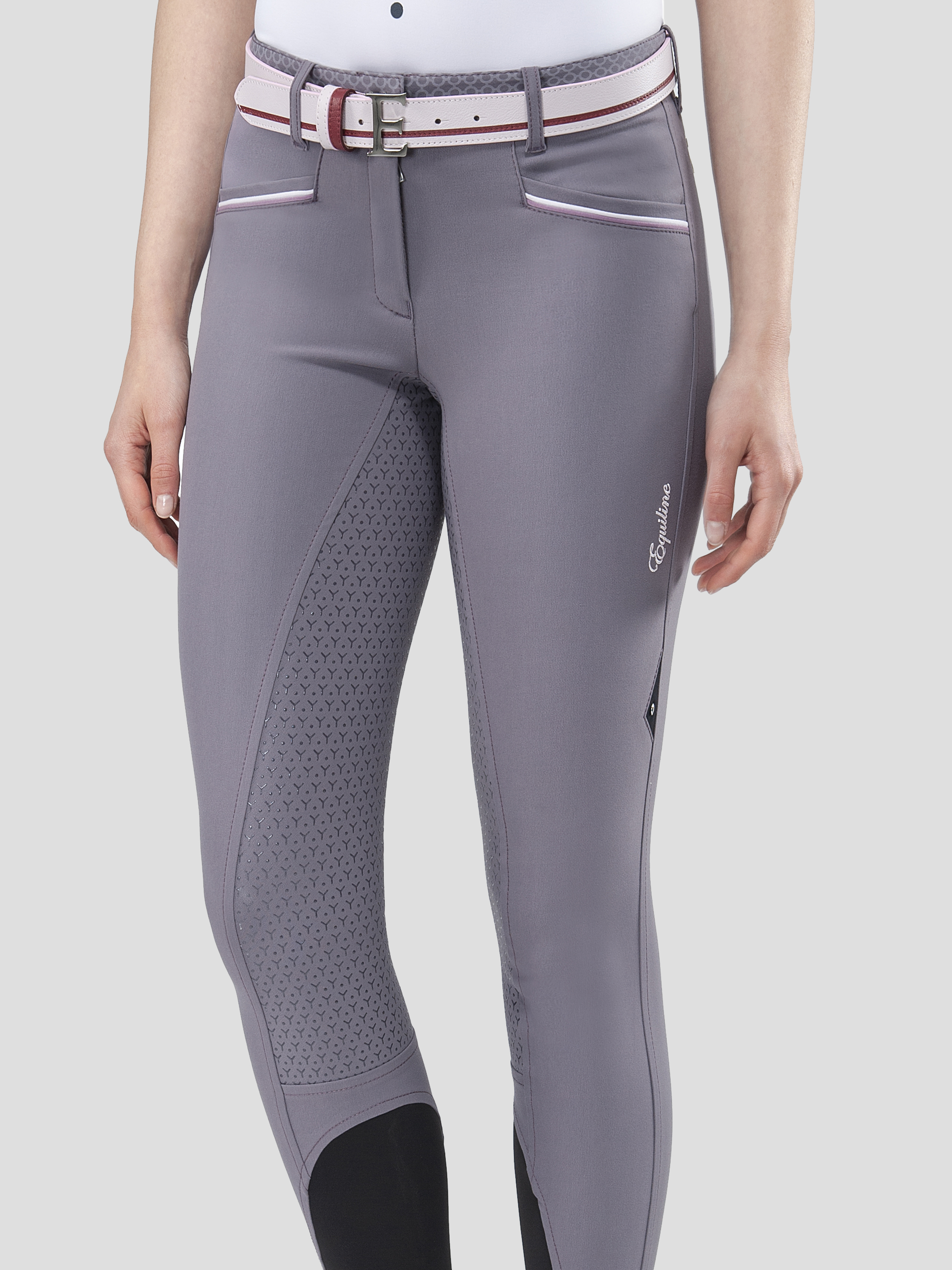ESHA WOMEN'S FULL GRIP BREECHES WITH DOUBLE PIPING 2