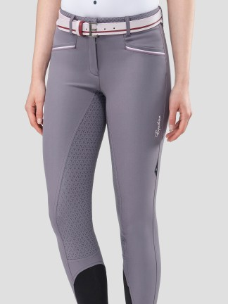 ESHA WOMEN'S FULL GRIP BREECHES WITH DOUBLE PIPING