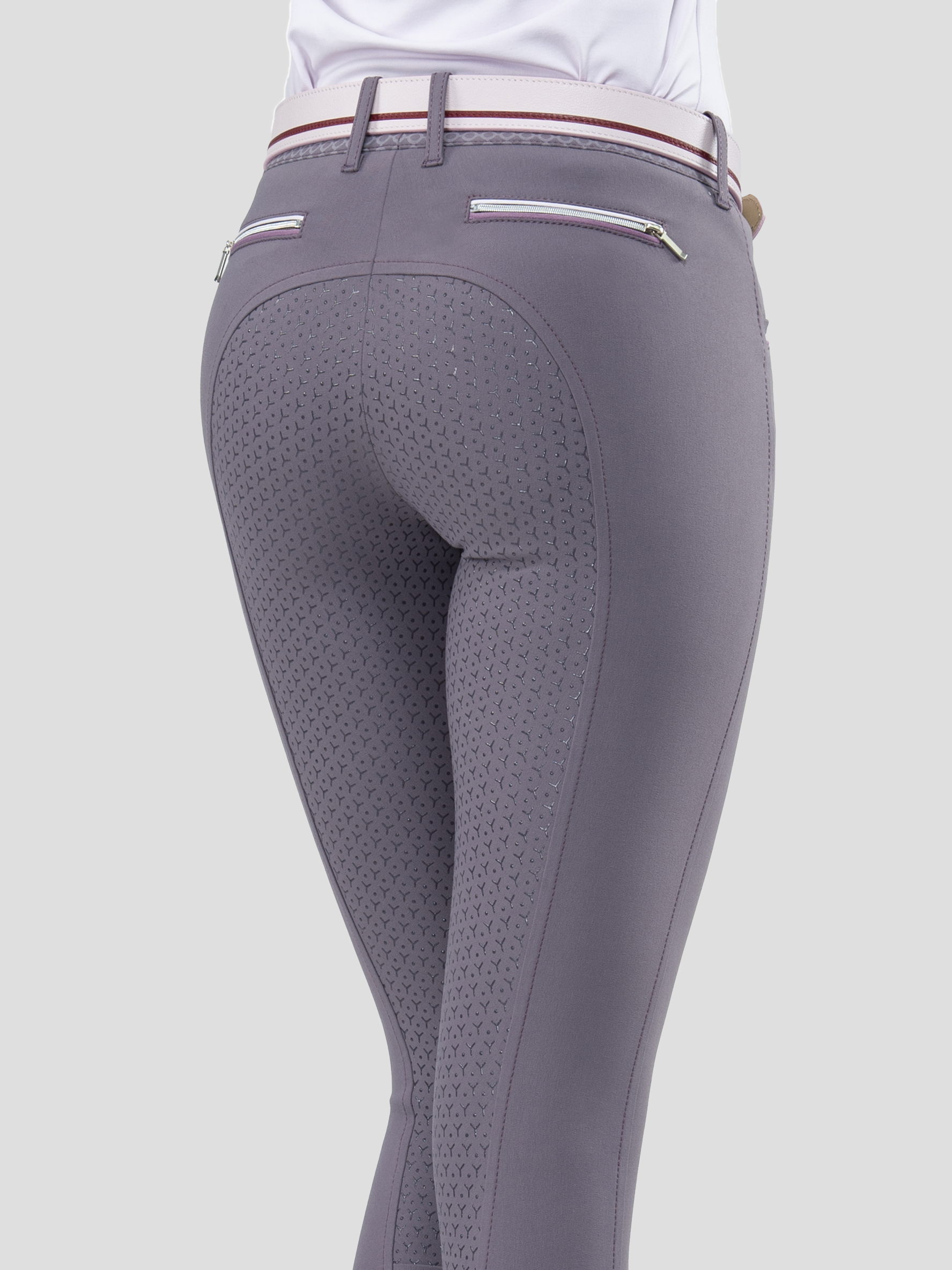 ESHA WOMEN'S FULL GRIP BREECHES WITH DOUBLE PIPING 3