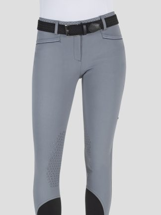 ESMERALDA WOMEN'S KNEE GRIP BREECHES WITH DOUBLE PIPING