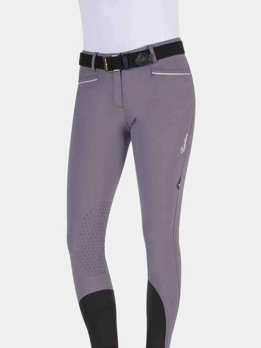 ESMERALDA WOMEN'S KNEE GRIP BREECHES WITH DOUBLE PIPING 4