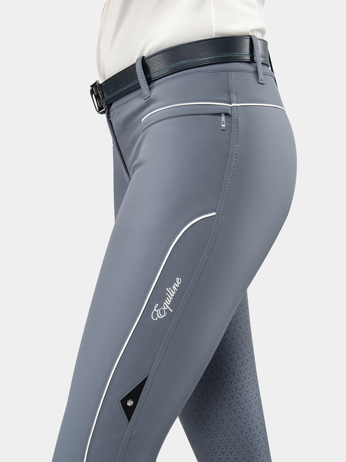 EILISE WOMEN'S FULL SEAT BREECHES WITH GRIP IN B-MOVE 2