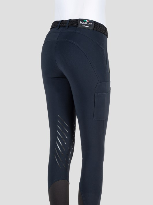 TEAM COLLECTION - WOMEN'S KNEE GRIP CARGO BREECHES IN B-MOVE #RIDERSTEAM 3