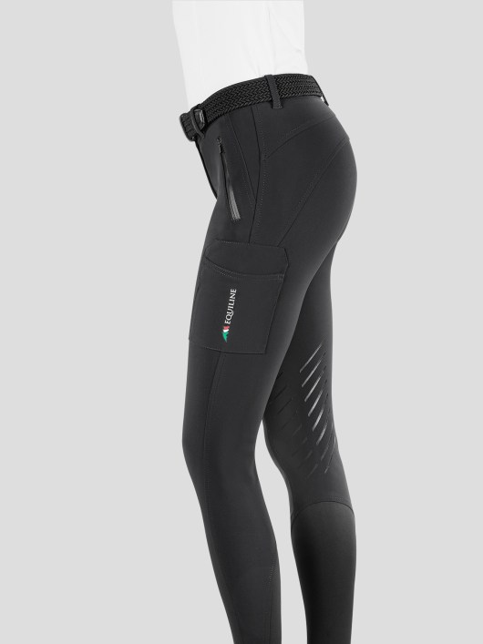 TEAM COLLECTION - WOMEN'S KNEE GRIP CARGO BREECHES IN B-MOVE #RIDERSTEAM 6