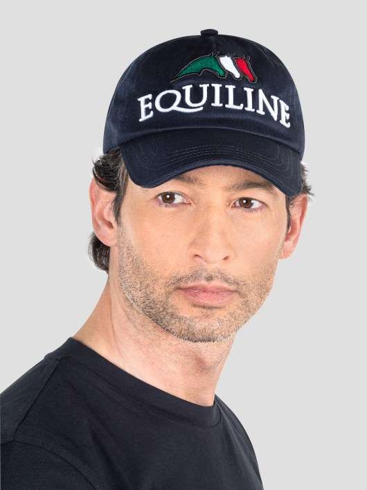 BALL CAP WITH TEAM EQUILINE LOGO 1